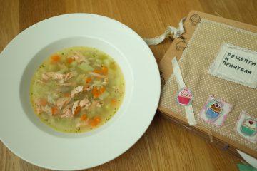 супа от сьомга рагу