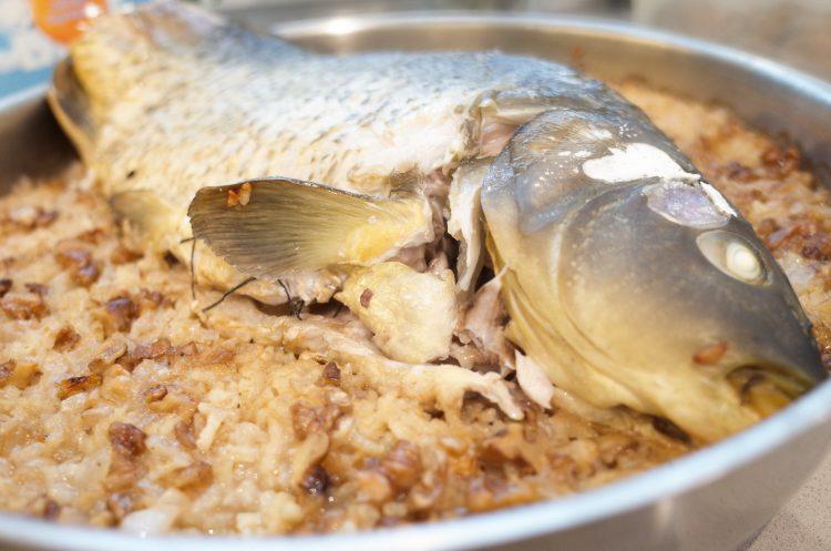 шаран с ориз за никулден